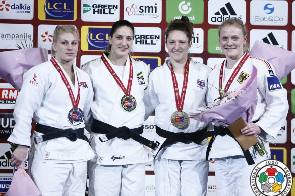 IJF Natalie Powell Paris Grand Slam 2016