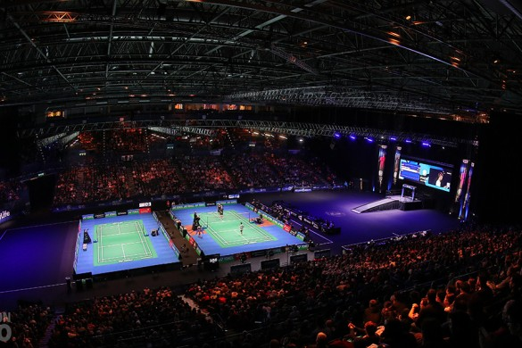 1- YONEX All England 2017 Arena shot - Credit BadmintonPhoto