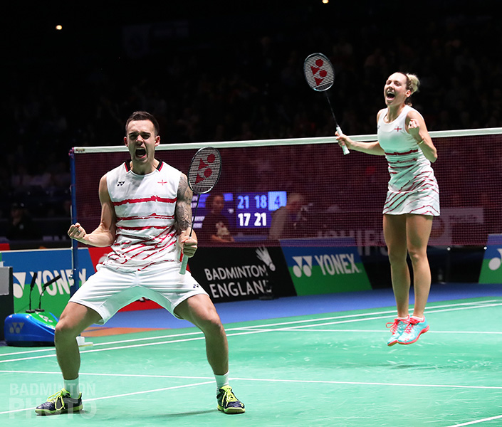 2 - Chris & Gabby Adcock joy at YONEX All England - credit BadmintonPhoto