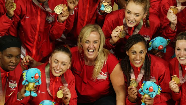 England Netballers favourite for Team of the Year at SPOTY ...